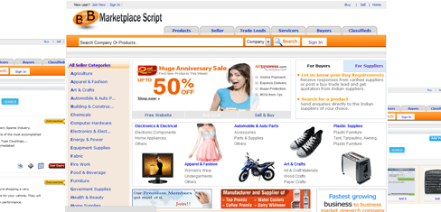 B2b Marketplace Script India