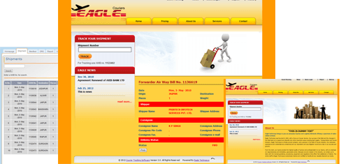online courier tracking website