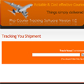Courier Tracking Software : Track Shipment / Consignment