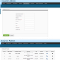 Courier Tracking Software : Existing Customers Management