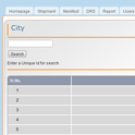 Courier Tracking Software : City/Roots Management