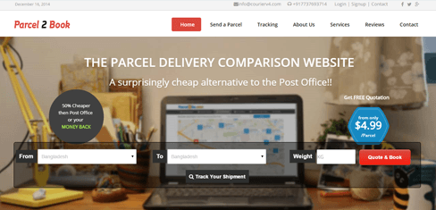 Parcel Delivery Booking Script