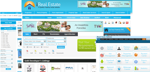 Php real estate script india