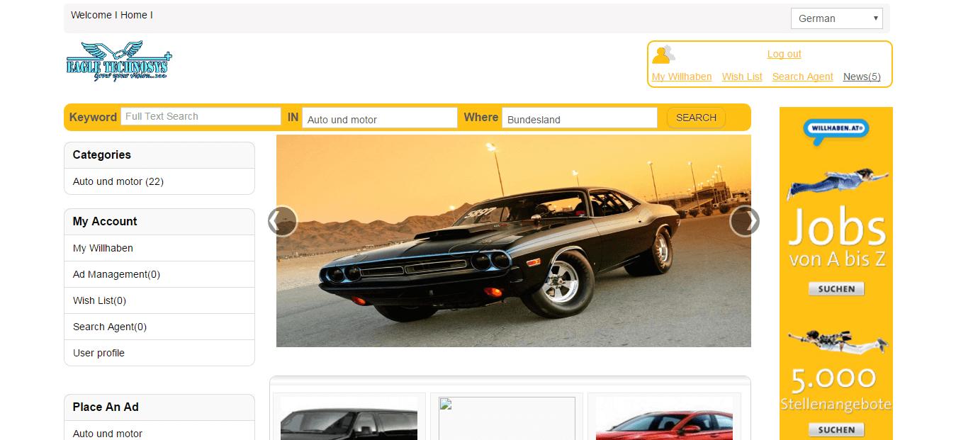 Auto Classified Script, Php Auto Classified Script, Car Classified ...