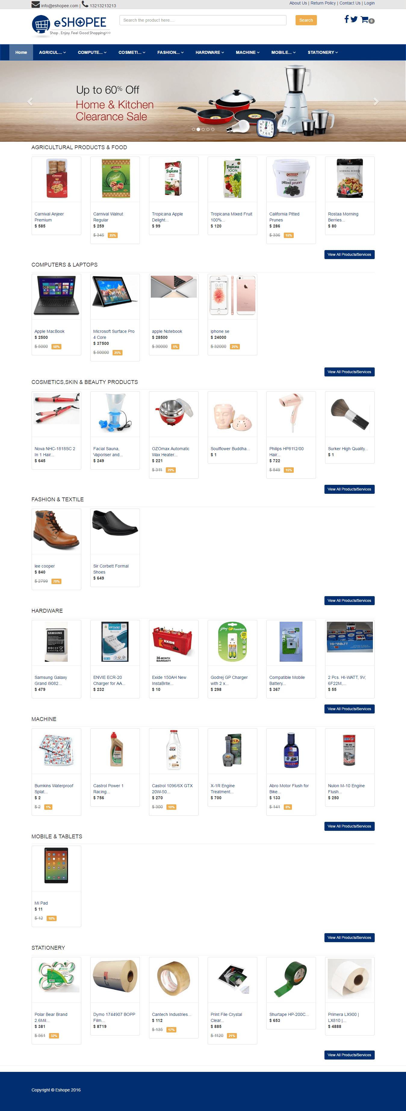 ecommerce Software carrinho